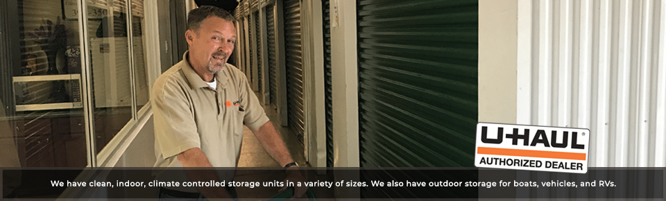 Clean, Indoor, Climate Controlled Storage